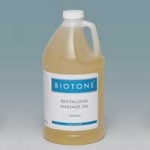 Biotone Revitalizing Massage Oil Unscented 1/2Gallon