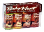 Pipedream Products, Inc. Body Heat Warming Massage Lotion Sampler 4 Pack