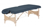 Earthlite Harmony DX Portable Massage Table Package (Agate Blue)