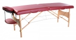 Paradigm Health and Wellness 9125 Ironman Colorado Massage Table with Burgandy PVC Leather