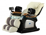 Authentic Beautyhealth Forever Rest Luxury Massage Chair *body scan* (NOW W/BUILT IN HEAT ON BACK AND FEET)Creme color