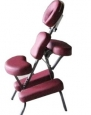 Burgundy 4 Portable Massage Chair Tattoo Spa Free Carry Case